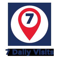 7 Daily Visits