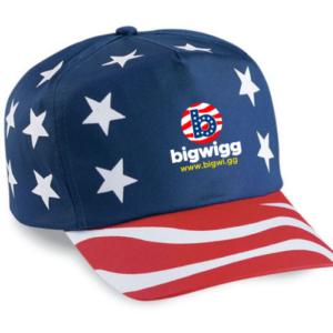Bigwigg American Flag Cap